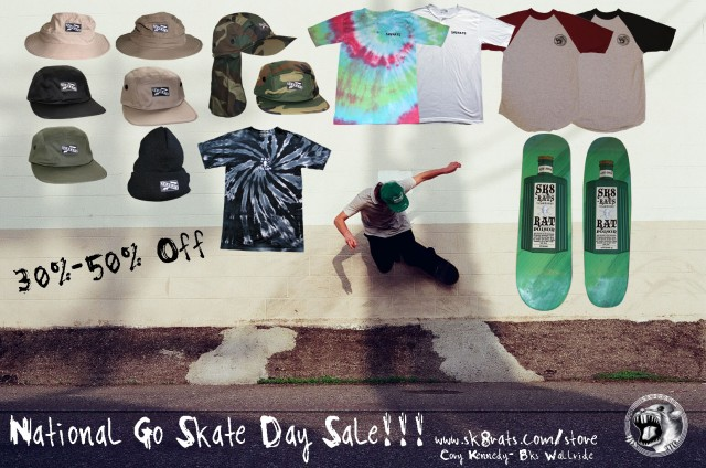 National Go Skate Day Sale!!!