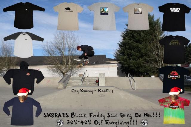 SK8RATS Black Friday Sale Ad 2013