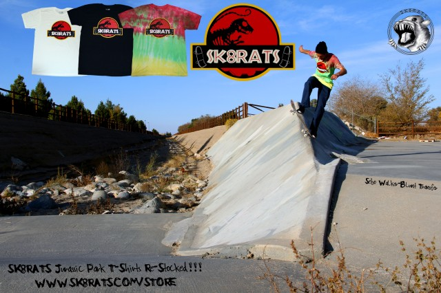SK8RATS Jurassic Park T-Shirts Re Stocked!!