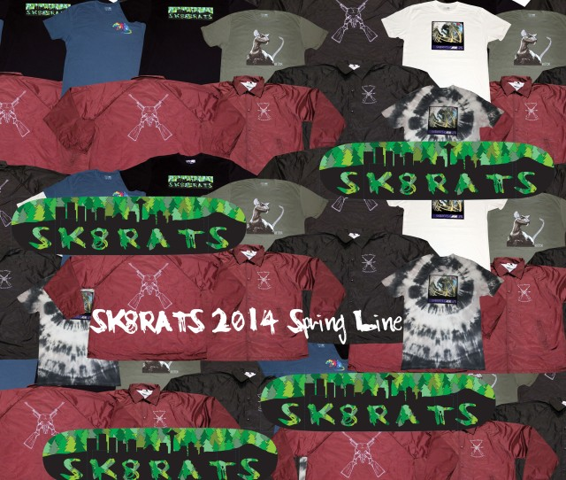 SK8RATS 2014 Spring Line Out Now!