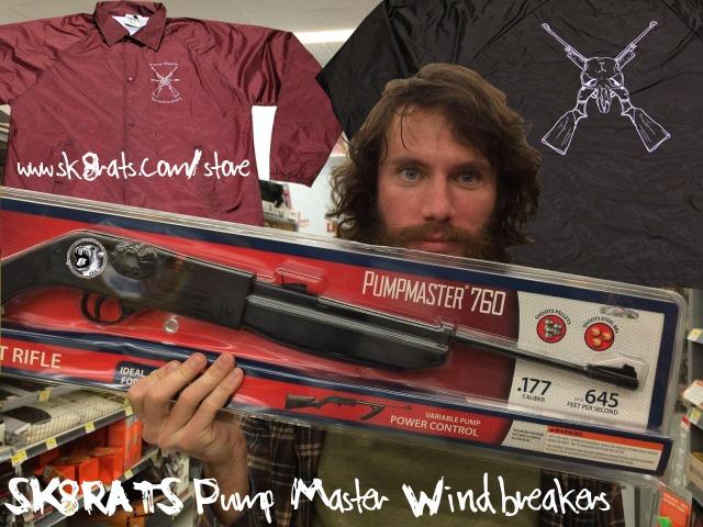 Pump Master Windbreakers