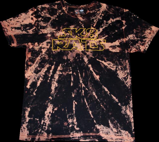 SK8RATS Star Wars T Bleach Tie dye