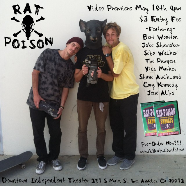 Rat Poison Video Premiere!