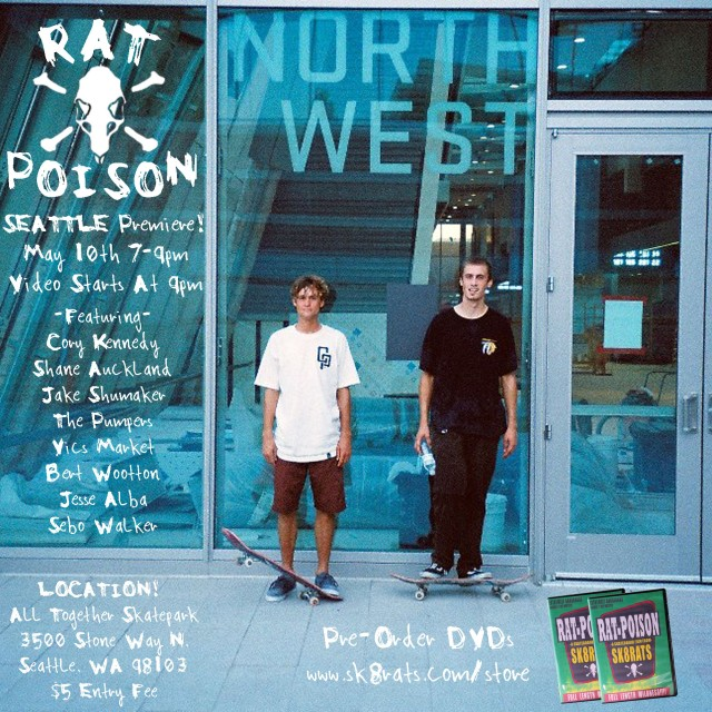 Rat Poison Video Premiere Seattle!
