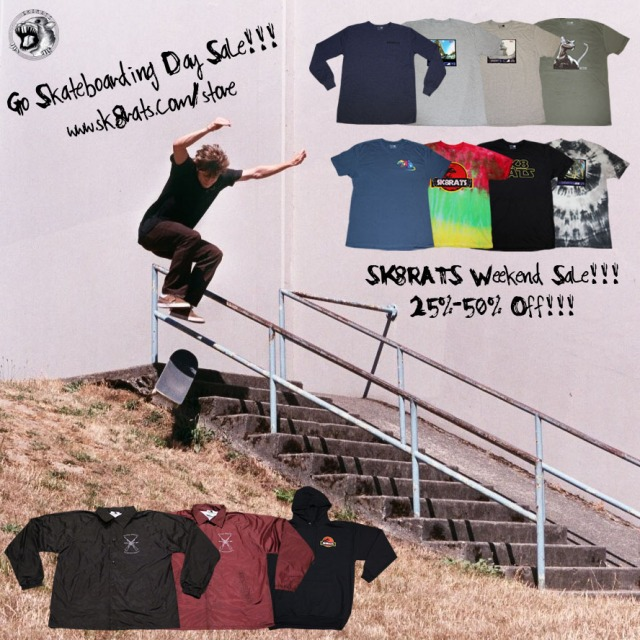 National Go Skateboarding Day Sale!