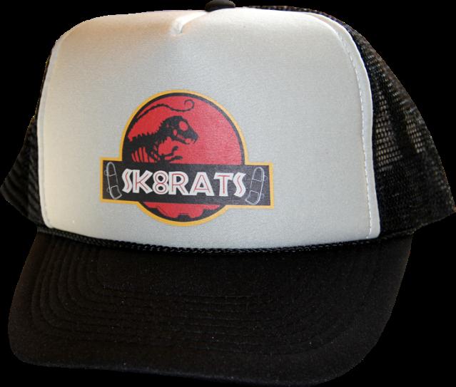 SK8RATS Jurassic Park Trucker Hat