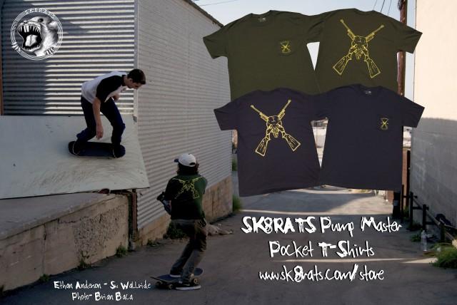 Ethan Anderson Pump Master Pocket T-Shirt Ad