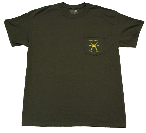 SK8RATS Pump Master Pocket T Green Front