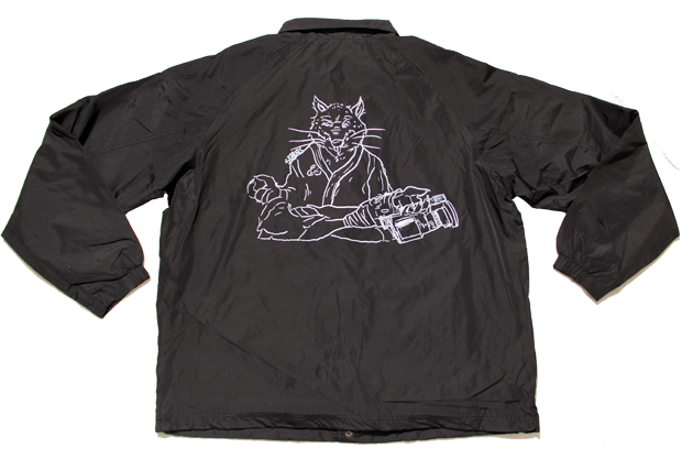 SK8RATS Windbreaker Master Splinter Back Black