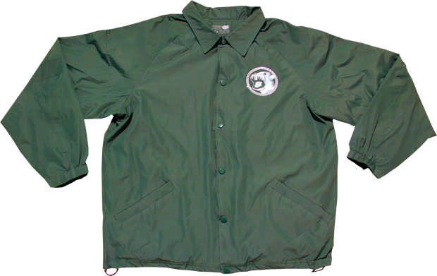 SK8RATS Windbreaker Master Splinter Front Green