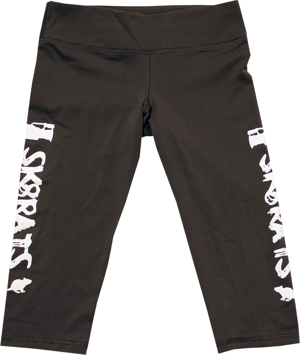 SK8RATS Yoga Pants Short Grey