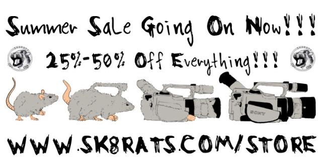 SK8RATS Summer Sale 2015 Ad 2