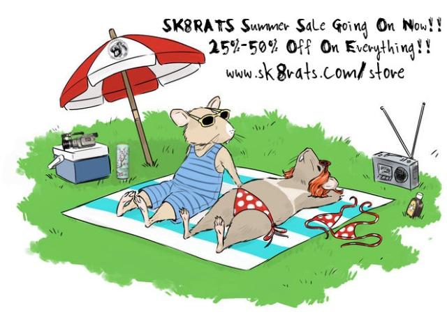 SK8RATS Summer Sale 2015 Ad 3