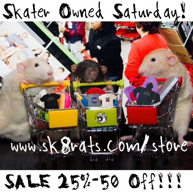 Skater Owned Saturday Sale 2015 Ad