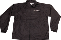SK8RATS Pizza Rat Windbreaker Jacket Black Front
