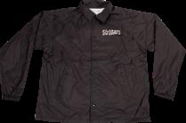 SK8RATS Pizza Rat Windbreaker Jacket Black Front