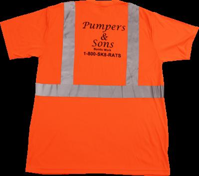 SK8RATS Pumper and Sons Oragne Back