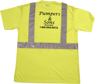 SK8RATS Pumper and Sons Yellow Back