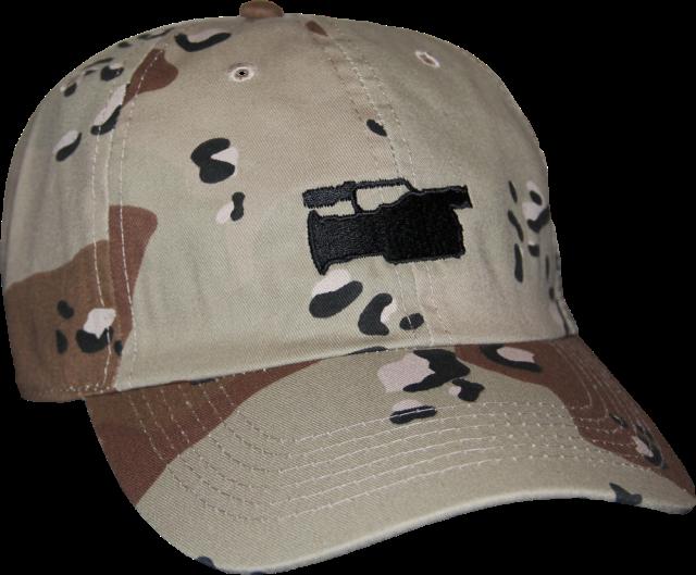 SK8RATS VX1000 Hat Desert Camo Front