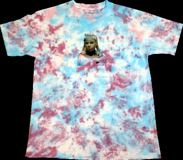 SK8RATS Rat Queen Tie Dye T-Shirt 1