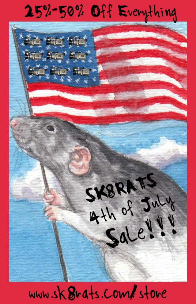 SK8RATS 4th of July Sale 2017