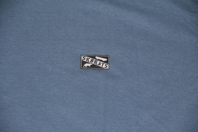 SK8RATS Patch T-Shirt Navy 3