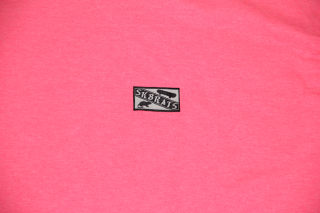 SK8RATS Patch T-Shirt Pink 3