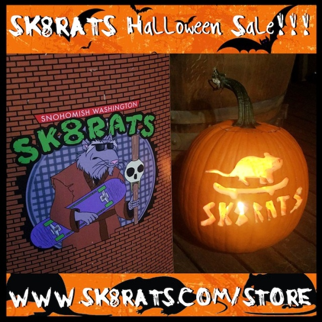 SK8RATS Halloween Sale 2017 Ad 2