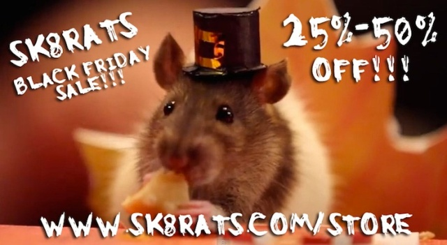 SK8RATS Black Friday Sale 2017 Ad 2