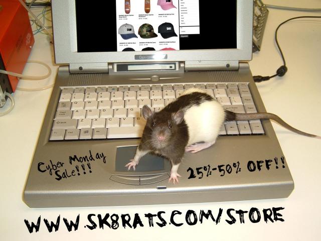 SK8RATS Cyber Monday Sale 2017