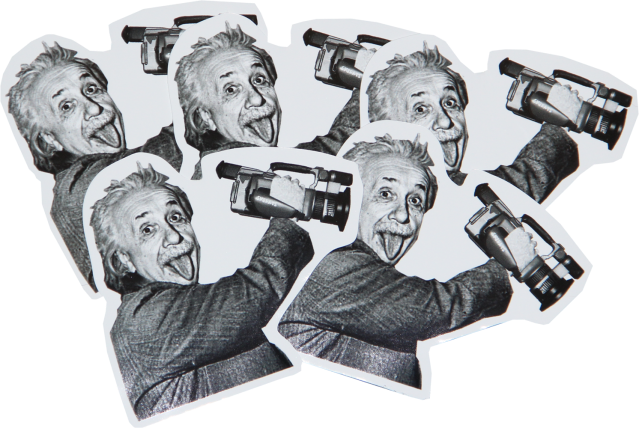 Einstein VX1000 Sticker New