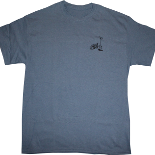 Pump On This Shirt Blue 1