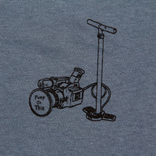 Pump On This Shirt Blue 2