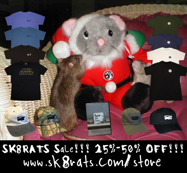 SK8RATS Holiday Sale 2019
