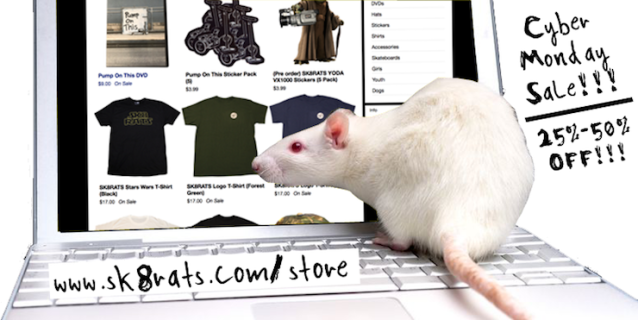 SK8RATS Cyber Monday Sale Ad 2 2019 copy